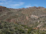Landscape shot - Tonto National Forest North of the Arboretum