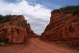 The red road cut