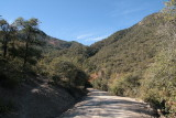 FR 112 - Looking back at the bridge across Sixshooter Canyon
