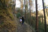 Hiking up Trail 197