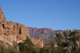 A view of Apache Leap from the High Trail