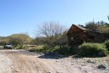 Old ranch building in Cottonwood Canyon on Dos Vaqueros Volando Ranch