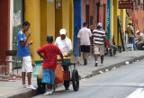 The omnipresent street vendors