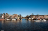 Amsterdam - CityScape - Along Canals -0701 (Hermitage on the right)