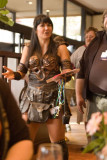 Xena is supposed to eat HERE?