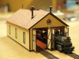 D&RGW Narrow Gauge Engine house