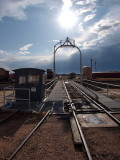 Turntable at UP Steam, Cheyenne, WY
