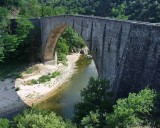 Bridge over river Doux