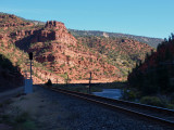 UP Tracks along Colorado River, Dotsero Cutoff, CO