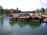 Floating Houses on the Kwai River