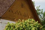 wooden gable
