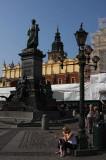 Adam Mickiewicz Monument on Rynek