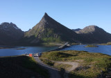 opposite of Fredvang,Lofoten