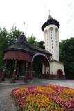 main entrance,spa in Palic