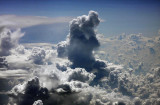 cloud towers up to 30 000 ft