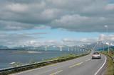Sandoya,in direction Lofoten,Norway