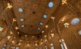 Detalhe do tecto do Salão Árabe