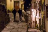 Rua das Aldas à noite