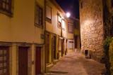 Rua de Pena Ventosa à noite