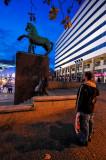 Outono na Praça D. João I