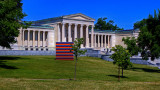 Albright Knox Art Gallery From Lincoln Parkway