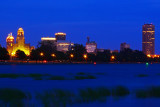 Blue Summer Night In Buffalo