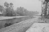 Snow in Louisiana