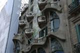 Façade of the Casa Batlló
