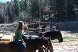 Rebeca riding