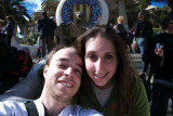 Us at Parc Guell