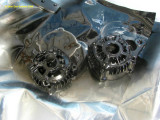 0957 Took alternator apart to paint it black