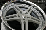 Hyperforged HF105R Anodized Silver
