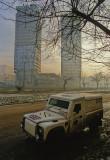 BBC armored Land Rover