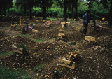 Improvised graveyard