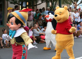 Pinocchio, Penguin and Pooh