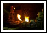 Blacksmith's fire