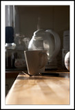 Steaming cuppa