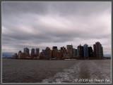 Lower Manhattan from ferry