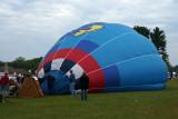 Yes, it is, a Jayhawk ballon