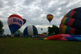 Busy launching field