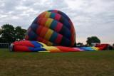 Ballon laid out