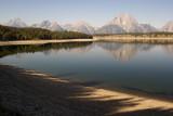 Mt. Moran and Tetons over Jackson Lake