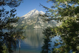 Grand Teton over Jenny Lake