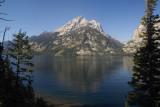Grand Teton over Jenny Lake #3
