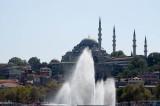 Süleyman Mosque seen from the Golden Horn