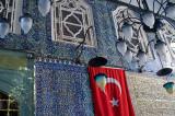 Turkish flag at Eyüp