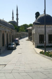 road to Eyüp Mosque