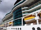 Boat deck and atrium