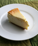 my first cheesecake