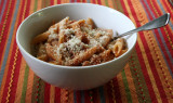 penne with tomato and mushroom